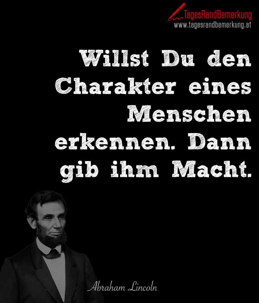 Zitate mit dem Schlagwort Abraham Lincoln der Die