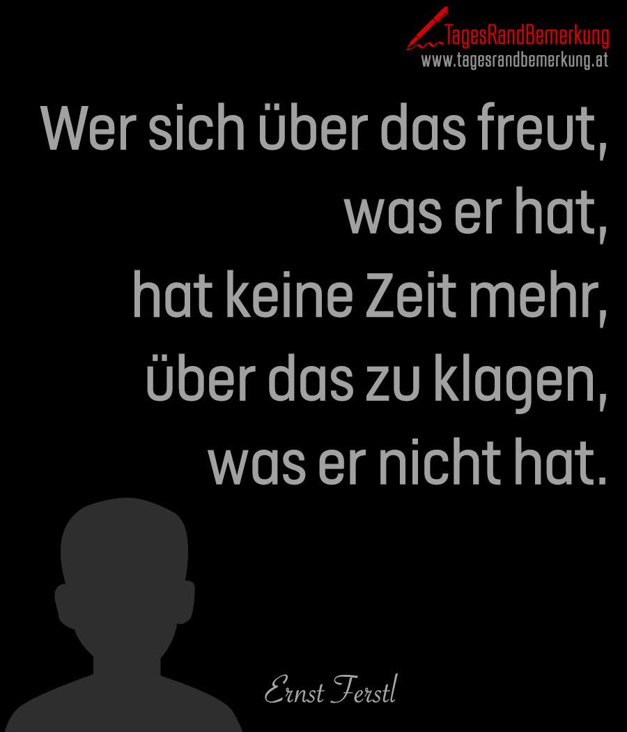 Zitate Mit Dem Schlagwort Ernst Ferstl Der Die