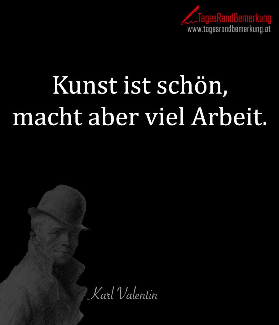 Zitate Mit Dem Schlagwort Karl Valentin Der Die