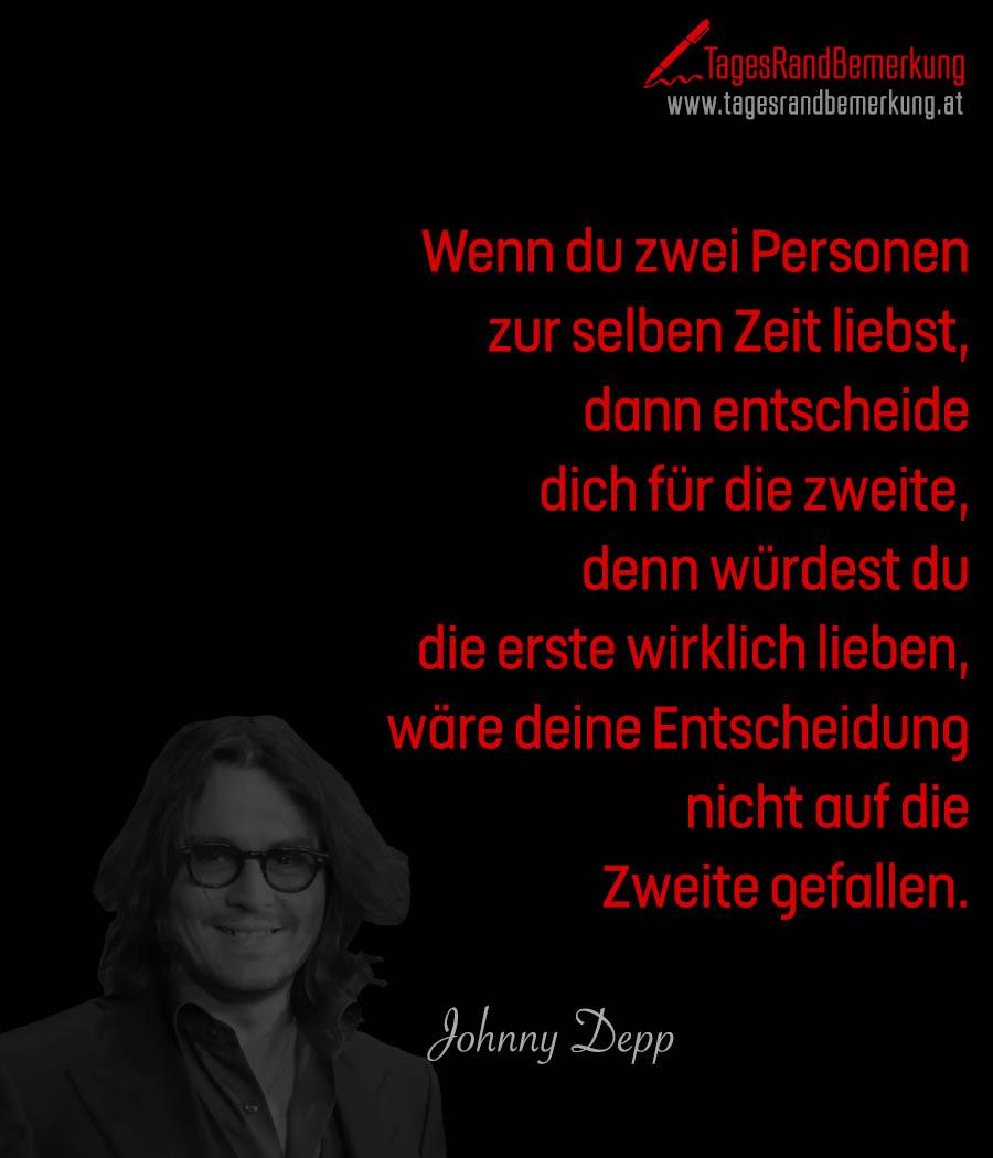 Zitate Mit Dem Schlagwort Johnny Depp Der Die Tagesrandbemerkung