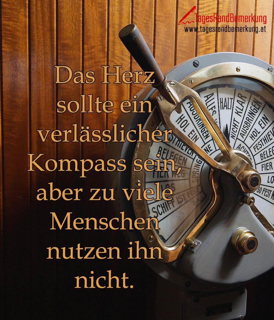Das Herz sollte ein verlässlicher Kompass sein, aber zu viele Menschen nutzen ihn nicht.