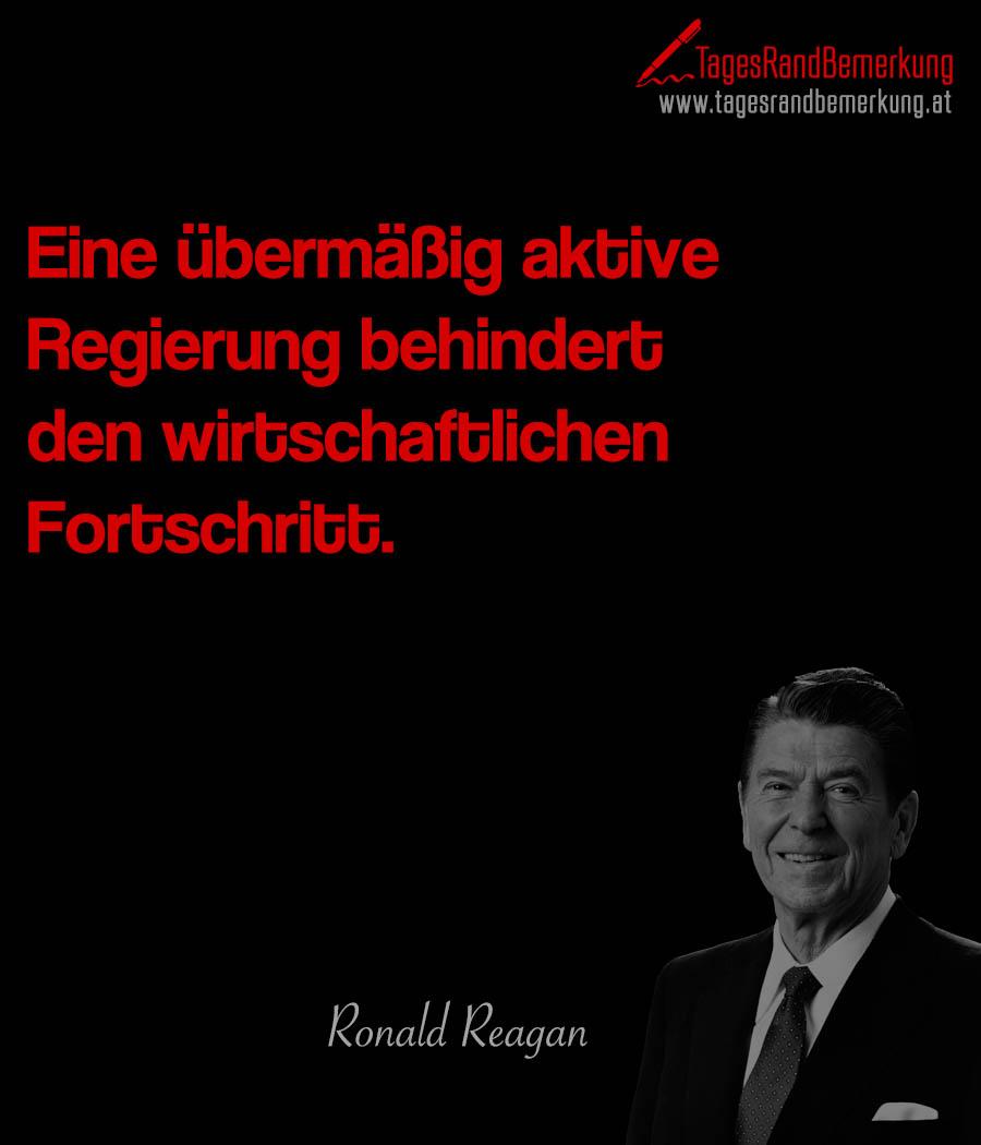 Eine übermäßig aktive Regierung behindert den wirtschaftlichen Fortschritt.