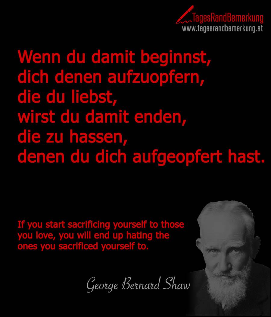 Zitate Mit Dem Schlagwort George Bernard Shaw Der Die